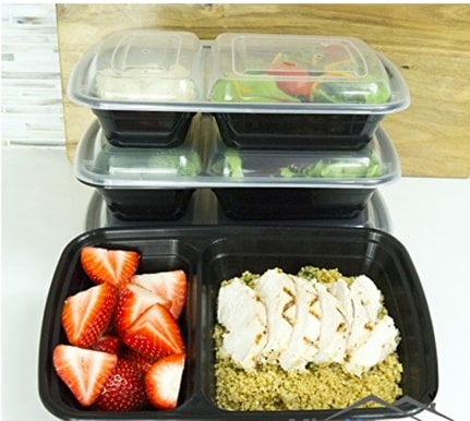 mischome meal prep containers