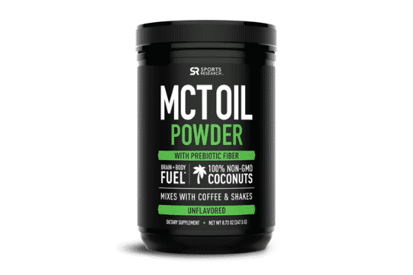 sports research mct oil powder