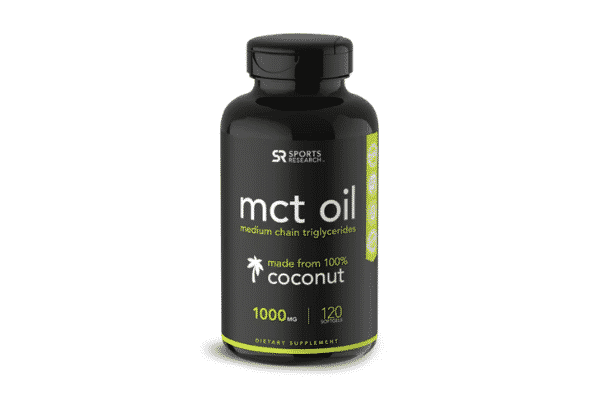 sports research mct oil softgels