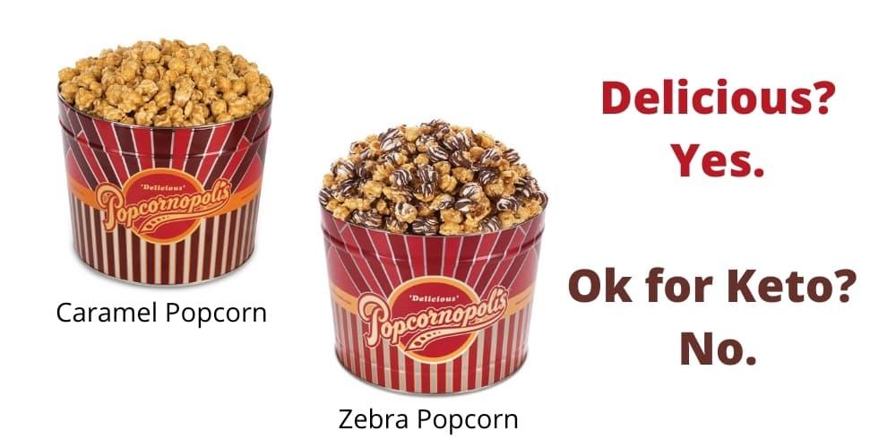 net carbs in popcorn