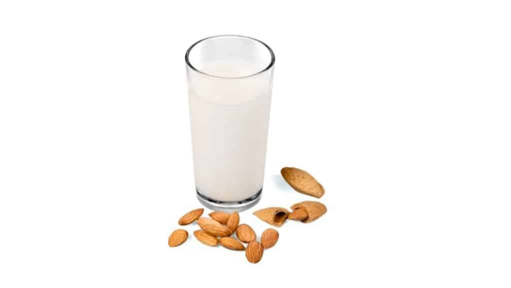 almond milk low carb