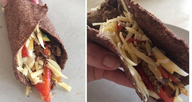 flaxseed wraps vegan paleo keto
