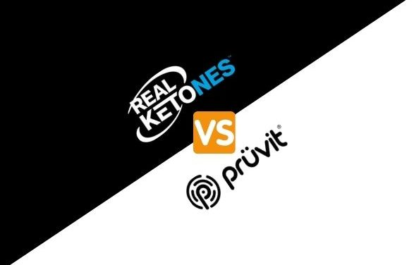 Real Ketones vs Pruvit